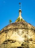 Detalhe do templo em Yangon, Myanmar Imagens de Stock