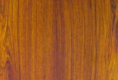 Detalhe do teste padrão de textura da madeira da teca Foto de Stock Royalty Free