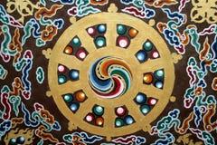 Detalhe do teto do monastério Imagens de Stock Royalty Free