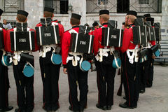 Detalhe do uniforme do protetor de Henry do forte Imagem de Stock Royalty Free