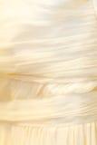 Detalhe do vestido de casamento Foto de Stock Royalty Free