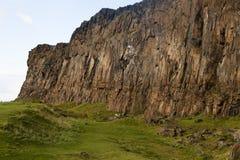 Detalhe dos Crags de Salisbúria imagens de stock