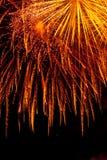 Detalhe dos fogos-de-artifício Fotografia de Stock Royalty Free