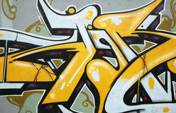 Detalhe dos grafittis Fotografia de Stock Royalty Free