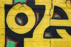 Detalhe dos grafittis Imagens de Stock
