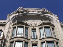 Detalhe - edifício - Porto fotografia de stock royalty free