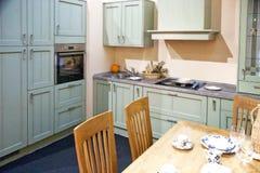 Detalhe elegante do interior da cozinha Imagens de Stock Royalty Free
