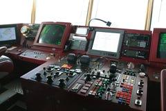 Detalhe, equipamento da ponte, Fotos de Stock Royalty Free
