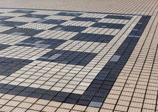 Detalhe exterior da placa de xadrez Imagens de Stock Royalty Free