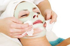 Detalhe facial da máscara foto de stock royalty free