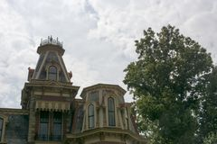 Detalhe gótico da casa Imagem de Stock Royalty Free