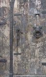 Detalhe histórico da porta em Miltenberg fotografia de stock royalty free