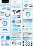 Detalhe infographic Imagem de Stock