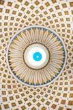 Detalhe interior da abóbada da rotunda de Mosta, Malta Imagens de Stock