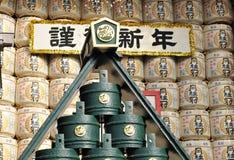 Detalhe japonês do templo Imagem de Stock