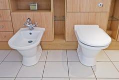 Detalhe luxuoso do banheiro Imagens de Stock Royalty Free