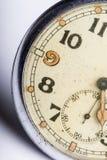 Detalhe arrastado velho do macro do relógio de bolso foto de stock royalty free