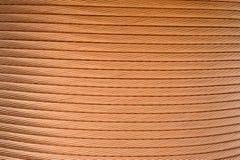 Detalhe macro de um indutor de cobre em um transformador Imagens de Stock Royalty Free