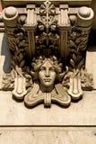 Detalhe modernista em Barcelona, Spain foto de stock royalty free