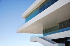 Detalhe moderno da arquitetura fotografia de stock royalty free
