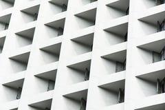 Detalhe moderno da arquitetura - Hong Kong, China Imagens de Stock