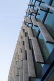 Detalhe moderno da arquitetura, janelas, paredes de vidro Imagem de Stock