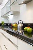 Detalhe moderno da cozinha Fotos de Stock Royalty Free