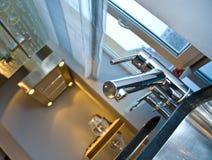 Detalhe moderno da cozinha Foto de Stock
