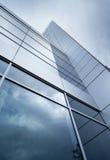 Detalhe moderno da fachada Foto de Stock Royalty Free