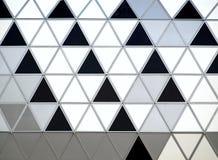 Detalhe moderno da fachada da construção Imagem de Stock Royalty Free