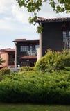 Detalhe moderno das casas de campo Imagens de Stock Royalty Free