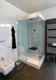Detalhe moderno do banheiro Fotografia de Stock Royalty Free