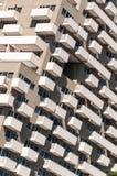Detalhe moderno do edifício do hotel Fotografia de Stock