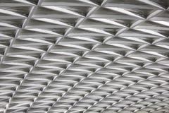 Detalhe moderno do teto da arquitetura da cidade Imagens de Stock Royalty Free