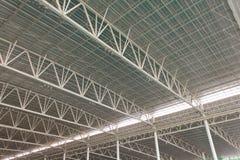 Detalhe moderno do teto da arquitetura da cidade Imagem de Stock