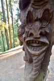 detalhe Monte das bruxas Juodkranté lithuania Fotos de Stock Royalty Free