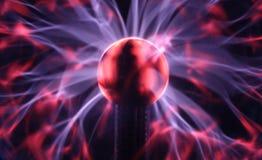 Detalhe na esfera do plasma Imagens de Stock