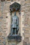 Detalhe no castelo de Edimburgo Fotos de Stock