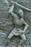 Detalhe no monumento armênio do genocídio - Philadelphfia Fotografia de Stock Royalty Free