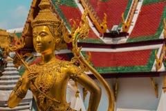 Detalhe no templo, Banguecoque, Tailândia Imagens de Stock Royalty Free