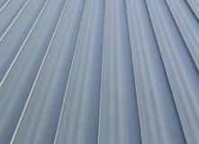 Detalhe novo do telhado do metal imagem de stock