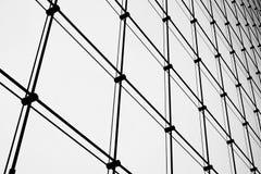 Detalhe o tiro da janela modelada com perspectiva, close-up Foto de Stock