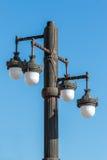 Detalhe ornamentado de um lâmpada-cargo Fotos de Stock