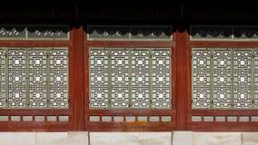 Detalhe - palácio de Gyeongbokgung Imagens de Stock Royalty Free