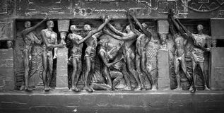 Detalhe parisiense da escultura Fotos de Stock Royalty Free
