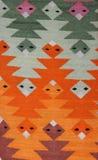 Detalhe peruano de matéria têxtil Fotografia de Stock Royalty Free