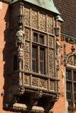 Detalhe polonês agradável da arquitetura. Fotografia de Stock