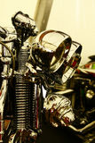 Detalhe principal da bicicleta imagens de stock royalty free