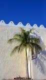 Detalhe do céu azul e do telhado Imagens de Stock Royalty Free