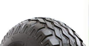 Detalhe a roda grande da escavadora pesada da construção Imagem de Stock Royalty Free